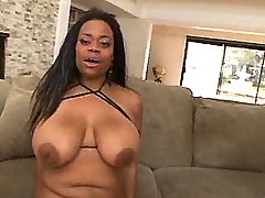 Ebony plumpers fucked in hard group