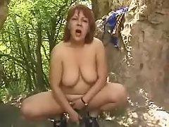 Splendid fatty taking up huge cock