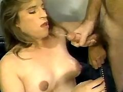 Preggy cutie fucks and gets cumload