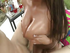 Careless fat girl having sex fun