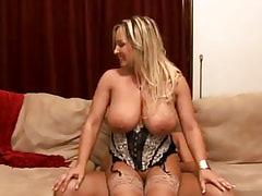 Steamy BBW slut gets plugged hard