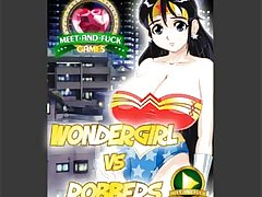 Wondergirl Vs Robbers