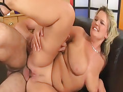 Mature fat honey gets screwed